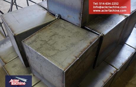 Boite de drain 16 pouces | Drain box 16 inches | Acier Lachine, Montreal, Quebec | www.acierlachine.com | +1-514-634-2252