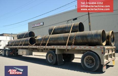 Ponceaux 36 pouces acier A252-3 | Culvert 36 inch | Acier Lachine, Montreal, Quebec | www.acierlachine.com | +1-514-634-2252