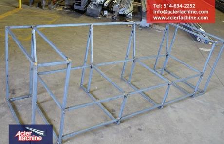 Structure de divan en acier | Steel couch structure | Acier Lachine, Montreal, Quebec | www.acierlachine.com | +1-514-634-2252