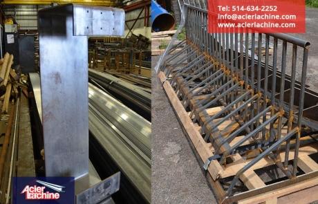 Support de vélo en acier | Steel bicycle rack | Acier Lachine, Montreal, Quebec | www.acierlachine.com | +1-514-634-2252